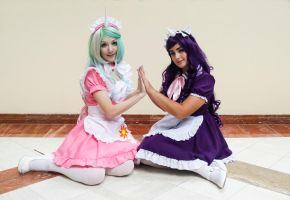 AFO Pony Shoot ~ Maids by Konchiroichi