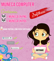 Nena computer en pds by SofithaaxTutoriales