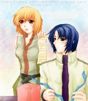 This's my gift, Athrun by citrus-shood