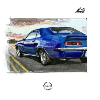 Chevy sunset by Tuoze