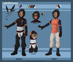 [DGM OC]: Lakshmana Reference Sheet by Amadere