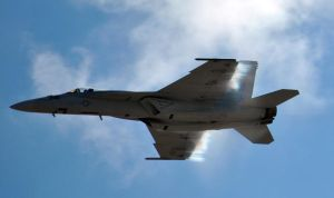 F/A-18 Super Hornet Instant before MACH 1 by fosspathei