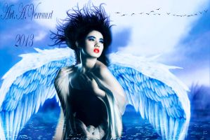 Angel lost in the woods by annemaria48