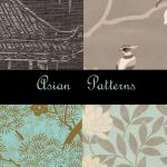 Asian Photoshop Patterns by eMelody