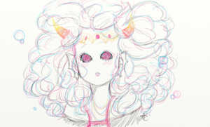 pink bubbles feferi(full view pweez) by catfirmella67number2