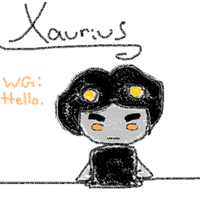 Xaurius by inuinulovelove