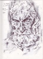 Rodin Burghers of Calais by Explonova