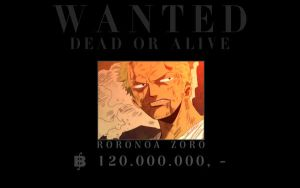 One Piece: Wanted - Zoro by ailend