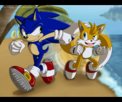 Gotta go fast! :prize: by Blue-Chica