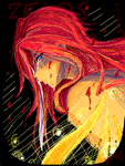 tos-tegaki-sadness of red snow by T3hb33