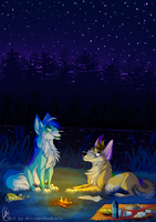 Star Gazing by MittensTheNoble