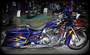 Duel Flamed Bagger by StallionDesigns