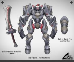 The Pawn - Armament by darthrith