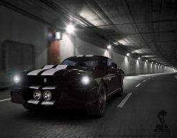 Shelby at tunnel by AnalyzerCro