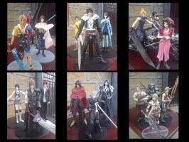 Final Fantasy PlayArts So Far by l3xxybaby