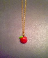 Apple Pendant by PrincessPeach88