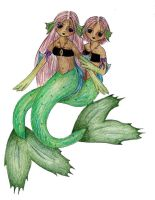 Mermaids by flyinangel
