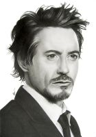 Robert Downey Jr. by SandraSaar