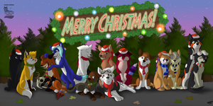 .:YCH:. A Family Christmas by CrEEdEncE004
