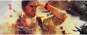 Uncharted 3 Drake Signature by Mercuphoria