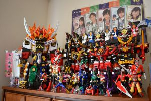 My Shinkenger Collection by ZaEmpera