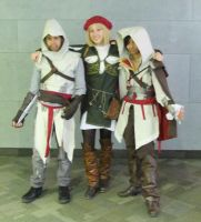 Assassin's Creed - group 1 by Shiroyuki9