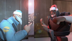 Team Fortress 2: Christmas Brawl by NegitiveX