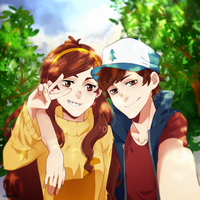 Gravity Falls by divenna