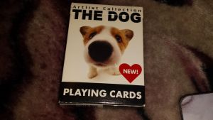THE DOG playing cards by Akitas237collections