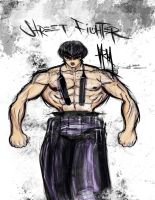 Enter The Street Fighter by Madpenciler