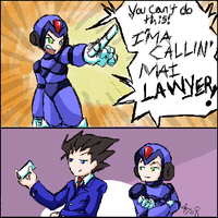I'MA CALLIN' MAI LAWYER by StephODell