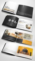 Professional Modern A5 Catalogue Brochure by 24beyond