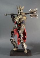 Diablo III - Skeleton King by 123samo