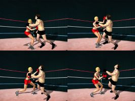Charlene Tison Vs Bruno Young 02-tile by andypedro