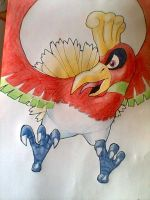 Ho-oh by RubberRabbit2