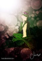 Fandy the Frog: In the Leaf by Hvan