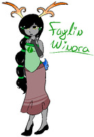 HS Fantroll: Faylin Winora by xBadgerclaw