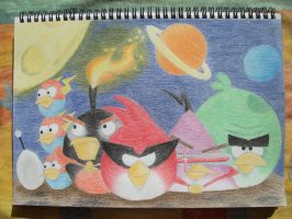 Angry Birds Space by Slinkgirl95