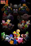 Smash Fighters Z - Marx Saga Teaser Poster by SuperYaridovich999