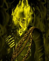 The Ghost Rider by j4ever