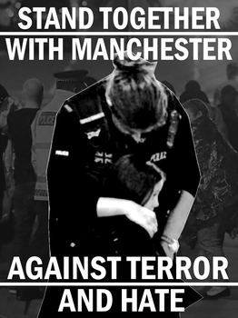 Stand with Manchester by Party9999999