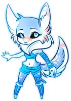 [AUCTION-CLOSED]: Arctic Fox by Lacryel