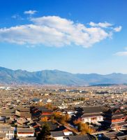 Lijiang Ancient City Overview by xelement