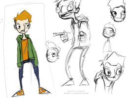 Randy Cunningham Concept Art by Supahboy