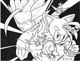 ssj2 gohan and super tails LA by trunks24