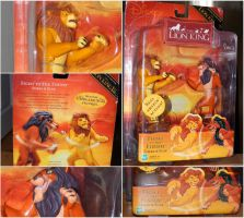 Hasbro Fight To The Finish Simba And Scar Figures by OliveTree2