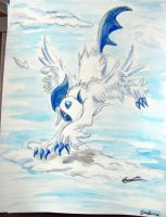 It's a Pidgey! No It's a Plane! No It's...Absol! by Emakura