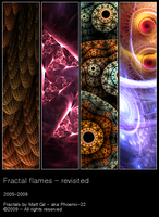 Fractal Flames Revisited by Phoenix-22