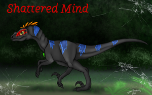 Shattered Mind - Gift For RedLightningNOD608 by WhenBooksFly101