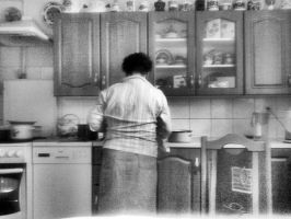 Grandma, what's for dinner? by adriannazajac